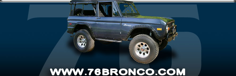 Early classic Ford Bronco 1966-1977